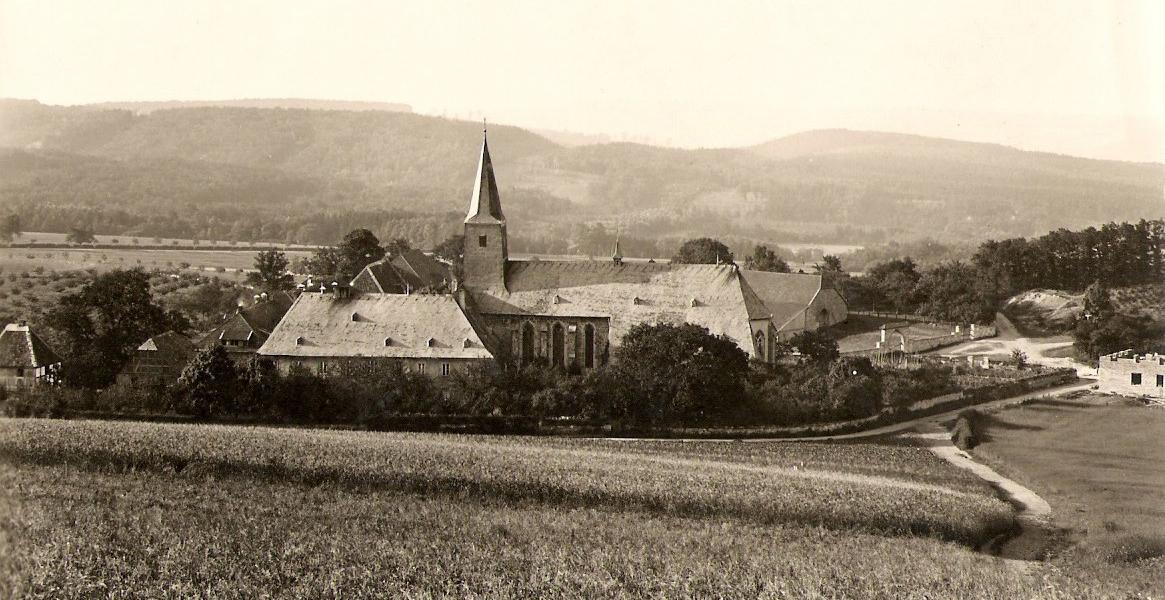 Rohbau Danne ca. 1916
